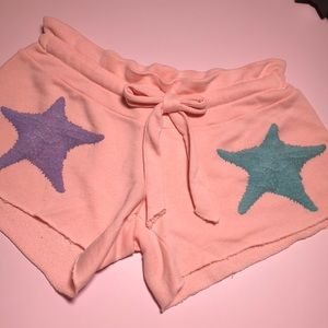 Wildfox starfish shorts